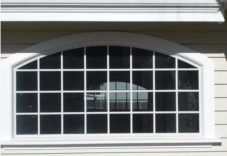 Vinyl Arched Window : Vinyl windows top